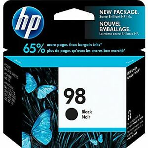 Hp#98 Black Ink Cartridge