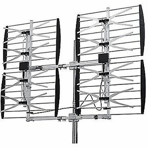 SMART TV ANTENNA 8 BAY OUTDOOR MULTI DIRECTION HD VHF/UHF