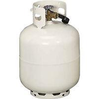 Two 8 KG empty BBQ propane tanks
