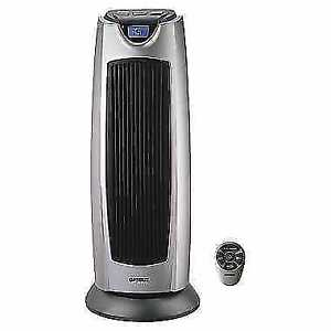 Portable Electric Fan Tower Heater with Digital Temperature