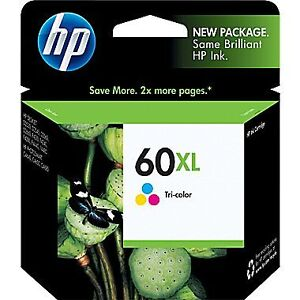NEW, never opened HP 60XL Ink Kitchener / Waterloo Kitchener Area image 1