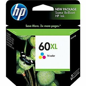NEW, never opened HP 60XL Ink