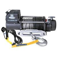 Tiger Shark 9500 Winch with Synthetic Rope
