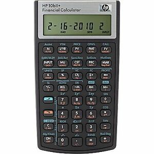 HP10bll Financial Calculator Stratford Kitchener Area image 1