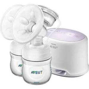 Double electric breast pump by Philips avent