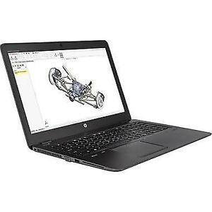 "HP ZBook 15u G4 1BS32UT#ABA 15.6"" Notebook, 2.7 GHz Intel Core i7-7th Gen, 1 TB HDD, 8 GB RAM- BRAND NEW"