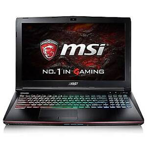 *MSI 15.6 Gaming Laptop, 2.8 GHz Core i7 1 TB HDD + 256 SSD*