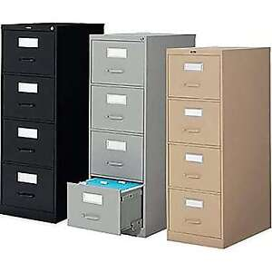 Global and Cole Metal file cabinets