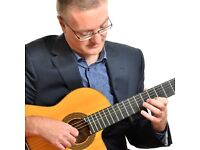 Solo Spanish Guitarist for Weddings & Functions