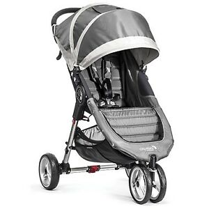 NEW IN BOX* Baby Jogger City Mini Stroller - Single (Steel Grey)