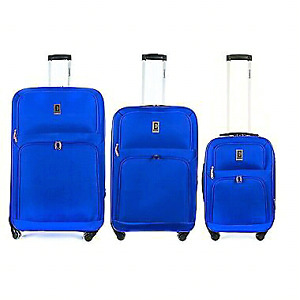 "Champs C2000 3 piece spinner luggage ""30""26""20 NEW IN BOX!"