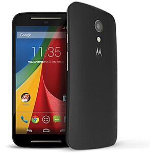 UNLOCKED Motorola Moto G 2nd Gen in Black