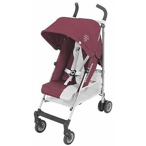 NEW IN BOX Maclaren Triumph Stroller in Plum/Grey