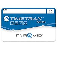 Pyramid 41302 Time/Attendance System Badges For TimeTrax Pro/EZ