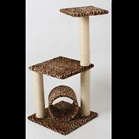 Scratching Post Platform with Tunnel