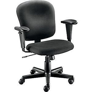 Three Black computer chair(office chair)