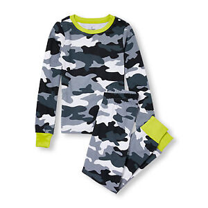 Boys Size 8 - TCP Camouflage PJ Set (New without Tags)