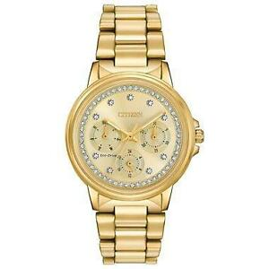 Citizen Women's Eco-Drive Silhouette Crystal Watch FD2042-51P