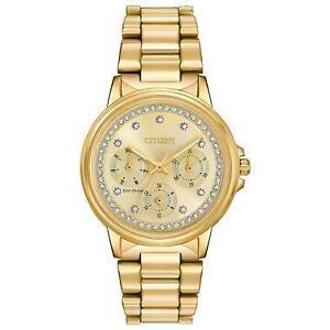 Citizen Women's Eco-Drive Silhouette Crystal Watch FD2042-51P