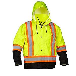 Safety Parka  4-In-1 by Forcefield - size XL new with tags