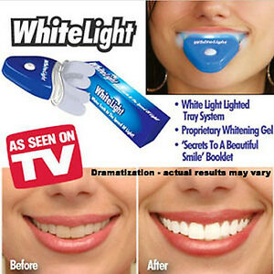 White LED Light Teeth Whitening Tooth Gel Whitener