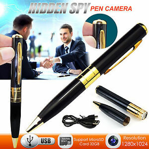 HD Spy Pen Camera DVR Audio Video Recorder