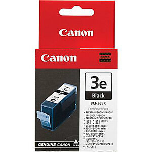 REDUCED$ Canon BCI-3e Genuine Ink Tank Inkjet Printer Cartridges