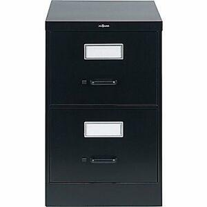 NEW IN BOX never open Staples Vertical Legal File Cabinet, 2-Drawer, Black