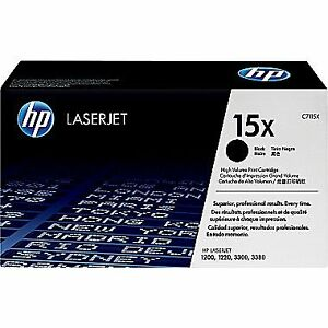 HP Laserjet 15x C7115X Black High Volume Print Cartridge-New