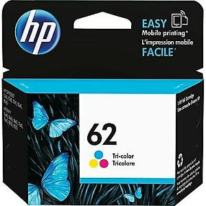 HP INK CARTRIDGE # 62 COLOR