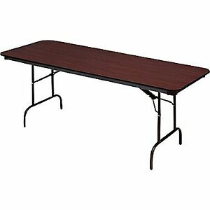 REDUCED!!!!!!!!!!! 6' Heavy Duty Melamine Folding Banquet Table