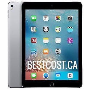 Tablette Apple iPad Pro 9.7'' 128GB A9X WI-FI Noir / Argent MLMV2CL/A - SPÉCIAL SEULEMENT 4 JOURS !  - BESTCOST.CA