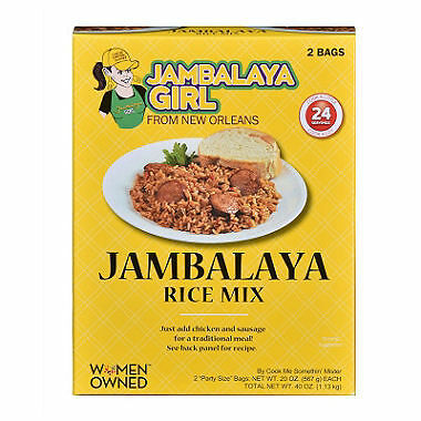 Jambalaya Girl Jambalaya Rice Mix, 20oz (2 Pack) ()