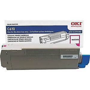 OKI C610 Printer Cartridge Magenta