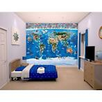 Map of the World behang - 12 delen