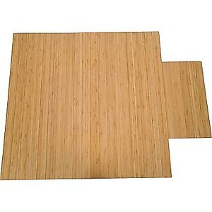 True Seating Bamboo Chairmat - 3 @ $50/each