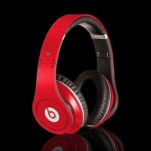 BEATS BY DRE STUDIO HEADPHONES (RED)