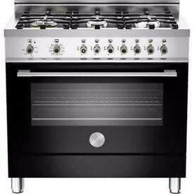 Bertazzoni 90cm PROFESSIONAL SERIES Dual Fuel Range Cooker