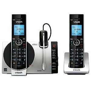 VTech (DS6771-3) 2-Handset Connect to Cell Answering System