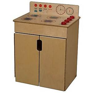 Brand new Play Kitchen Stove,Ply wood,fully assembled in package