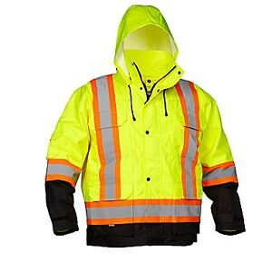 Forcefield 4-In-1 Safety Parka - size M,L,XL,XXL , new with tags