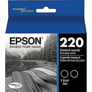 NEW Epson DURABrite Ultra 220 Black Ink Cartridge