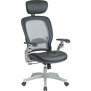 Office mesh back recliner chair