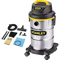 *ALMOST NEW* Stanley 5-Gallon Stainless Steel Vacuum