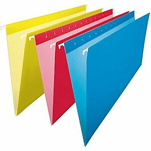 Blue Hanging File Folders - Legal