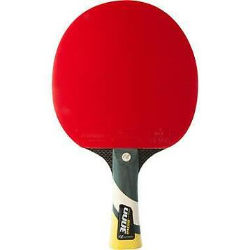 Tafeltennis bat cornilleau excell carbon 3000 rood