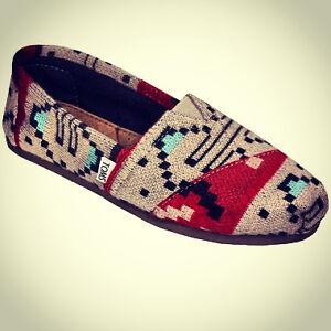 Toms Aztec Style Size 7