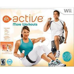 EA Sports Active More Workouts Nintendo Wii - like New in b