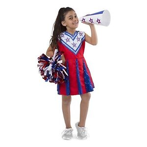 Brand New Melissa & Doug Cheerleader Role Play Costume