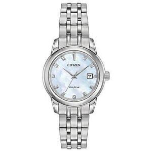 Citizen Women's 'PAIRS' Quartz Stainless Steel Casual Watch, Col EW2390-50D